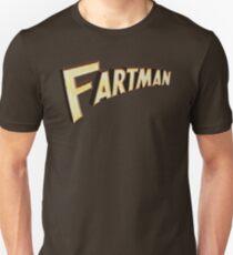 Howard Stern FARTMAN MTV VMAs Chest Logo Slim Fit T-Shirt