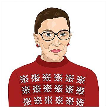 RBG Holiday Sweater von sszampetti