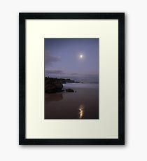 The Moonlit Sands Framed Print
