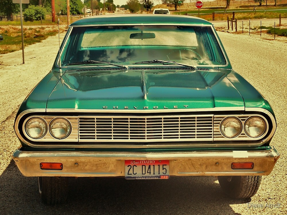 Still runs like a top, original 2 sp. tranny, and all by Diane Arndt