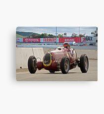 1935 Alfa Romeo 8C 35 Vintage Racecar Canvas Print