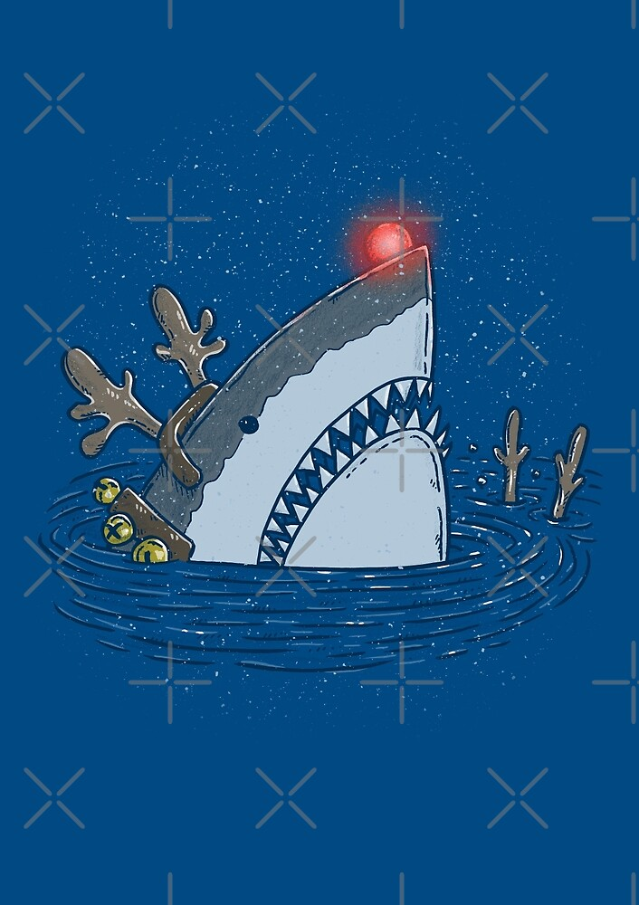 Rudolph Shark by nickv47