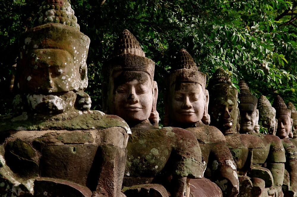 Angkor Thom, Cambodia by C1oud
