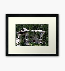 Maloja - Grisons - Swiss Framed Print