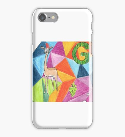 G is for Gerenuk iPhone Case/Skin