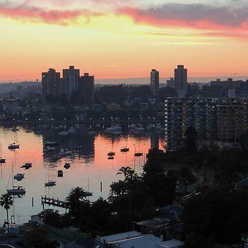Dawn over Elizabeth Bay, Sydney, Australia. by kaysharp