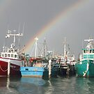 Fishing for a rainbow by Judith Cahill