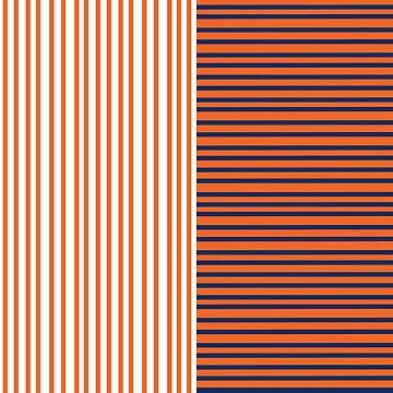Syracuse university orange and blue by sswain