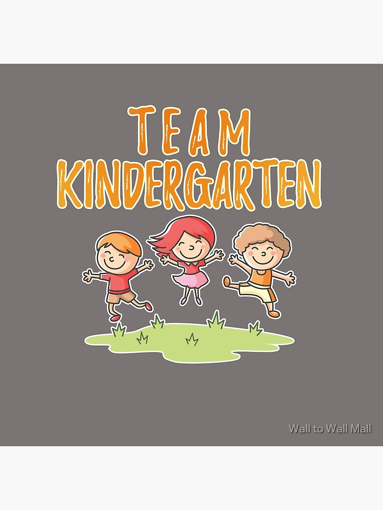 Team Kindergarten Great for First Day of School Kindergarten design T  design for Kids and Teachers | Tote Bag