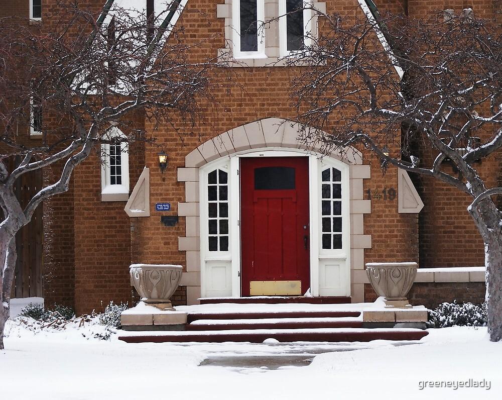 red rectory by greeneyedlady