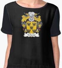 Infante Coat of Arms - Family Crest Shirt Chiffon Top