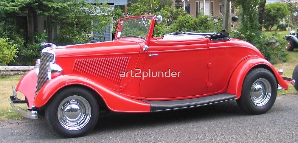 Antique Car-4 by art2plunder