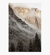 Low Clouds over Yosemite Photographic Print