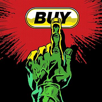 Comic Hands - Buy by ProprgndaDesign