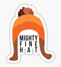 Firefly: Mighty Fine Hat Sticker