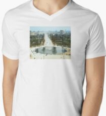 FROM LA ROUE DE PARIS ON BOXING DAY V-Neck T-Shirt
