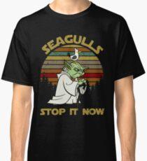 Möwen stoppen es jetzt Classic T-Shirt