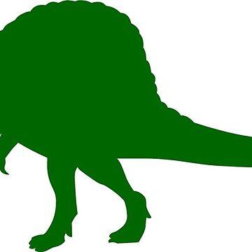 Spinosaurus Dinosaur by sweetsixty