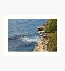Weathered Rocks Art Print