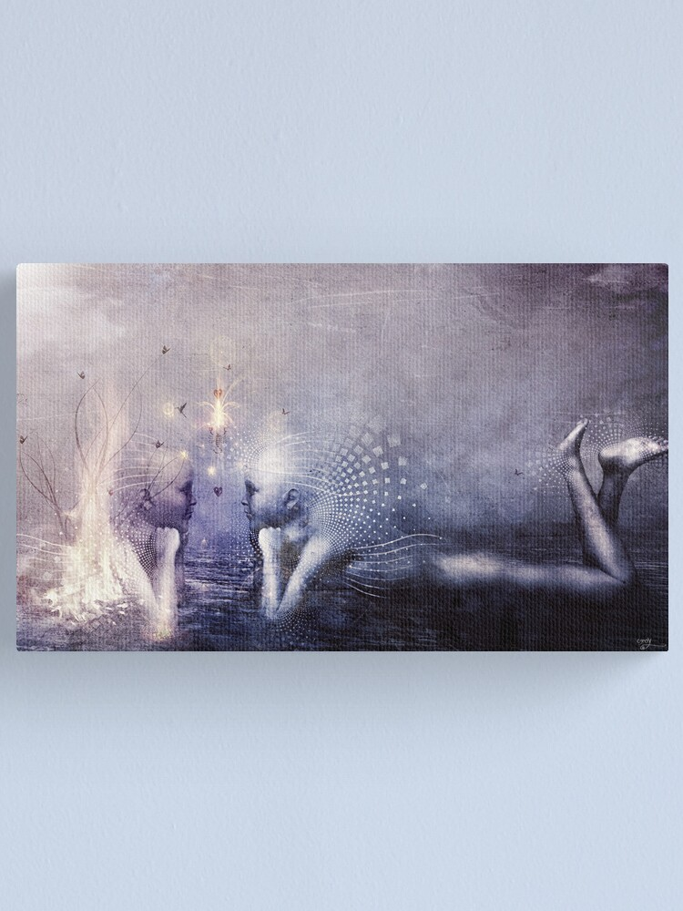 Alternate view of Dreams of a Scorpion Heart Canvas Print