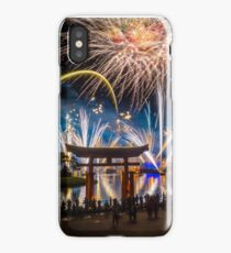 Fireworks from Epcot - Illuminations Reflections of Earth iPhone Case