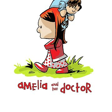 Amelia and the Doctor by Douggiedoo