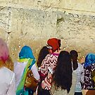 WHISPERED PRAYERS (Western Wall, Jerusalem Israel) by ZannaLea