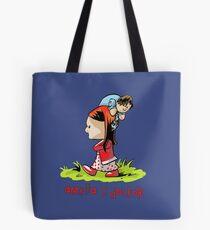 Amelia and the Doctor Tote Bag