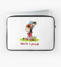 Amelia and the Doctor Laptop Sleeve