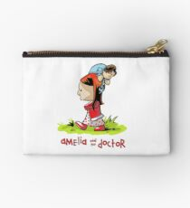 Amelia and the Doctor Studio Pouch