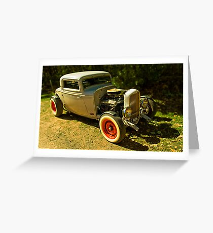 Ford '34 Coupe - Hotrod Greeting Card