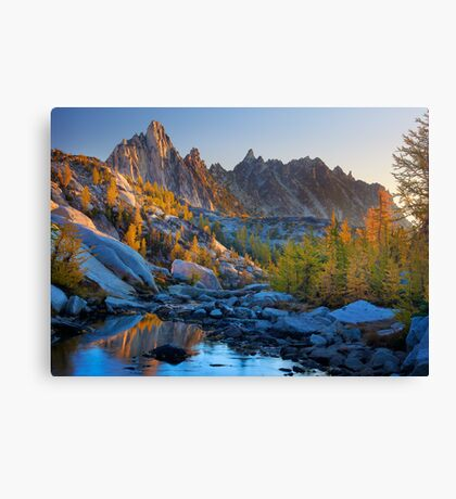 Prussik Fall Color Canvas Print