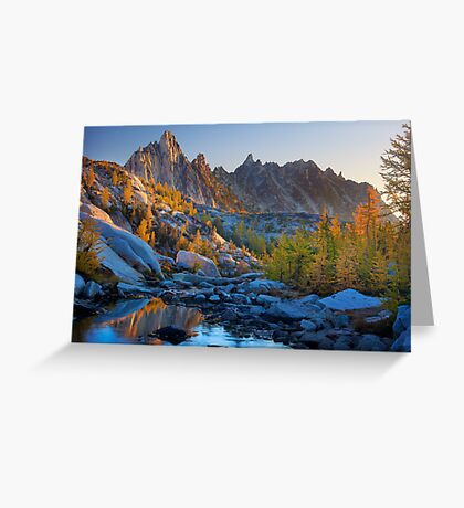 Prussik Fall Color Greeting Card