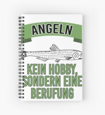 Fishing vocation instead of hobby Spiral Notebook