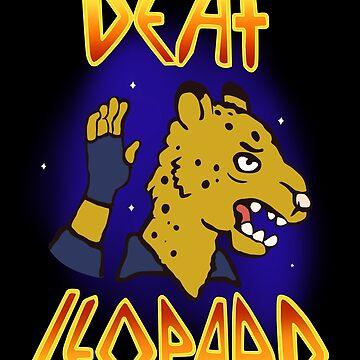 Deaf Leopard by cucuy