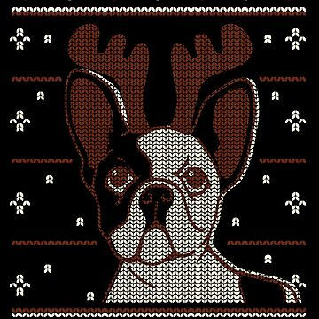 Cute Christmas Reindeer Dog by lifestyleswag