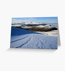 Mangerton view Greeting Card