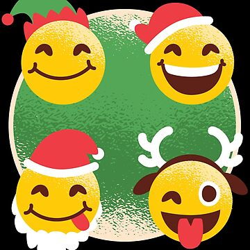 Cute Christmas Emojis by lifestyleswag