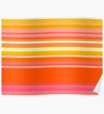 Sablo Lio Orange Poster