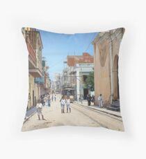 Old San Juan, Puerto Rico ca 1900 Throw Pillow