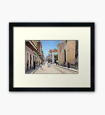 Old San Juan, Puerto Rico ca 1900 Framed Print