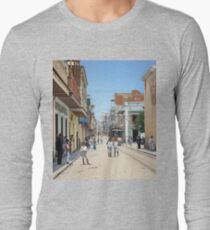 Old San Juan, Puerto Rico ca 1900 Long Sleeve T-Shirt