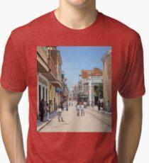 Old San Juan, Puerto Rico ca 1900 Tri-blend T-Shirt