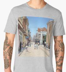 Old San Juan, Puerto Rico ca 1900 Men's Premium T-Shirt