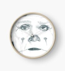 Puddles Pity Party, dreamy eyed Clock