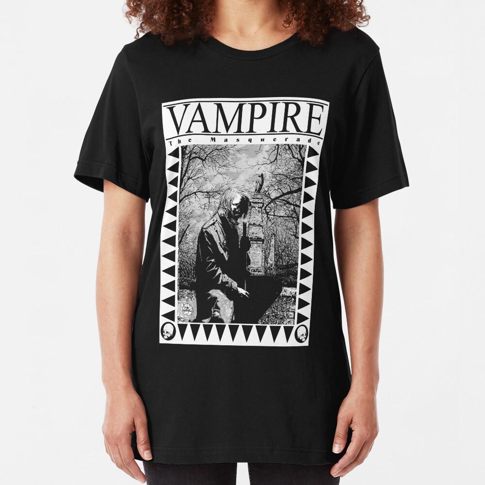 Retro: Vampire: The Masquerade 2 Slim Fit T-Shirt