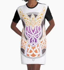 A Dragon's Tale Graphic T-Shirt Dress