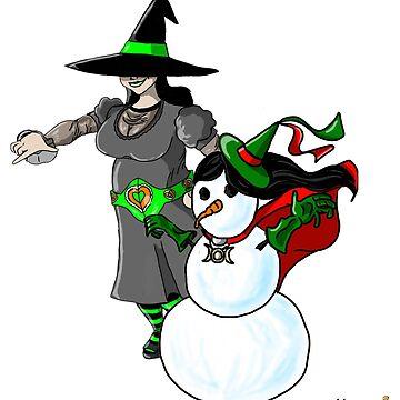 Crystal the Snowwitch  by ChuckHalloran