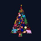 Magic of Christmas tree by ShowMeMars