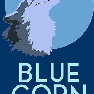 Wrack Internet Prinzessin Blue Corn Moon von ijoshtherefore